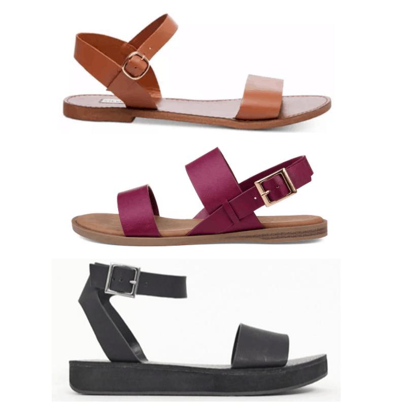Normcore sandals