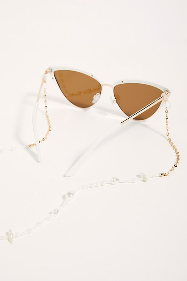 Pearl Sunglasses Chain from Free People