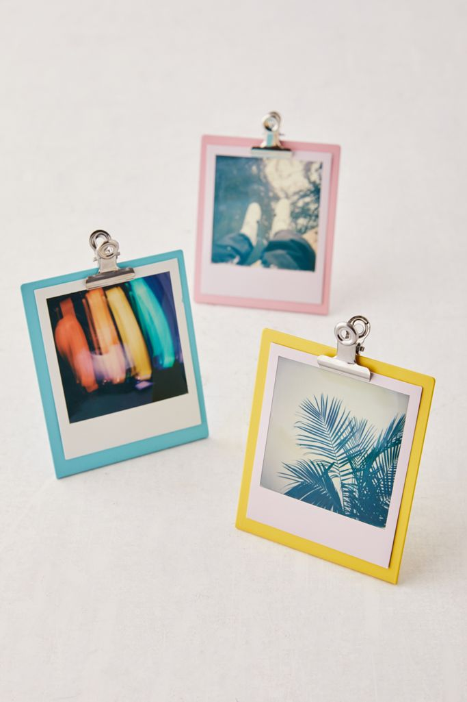 Urban Outfitters clipboard style photo frames