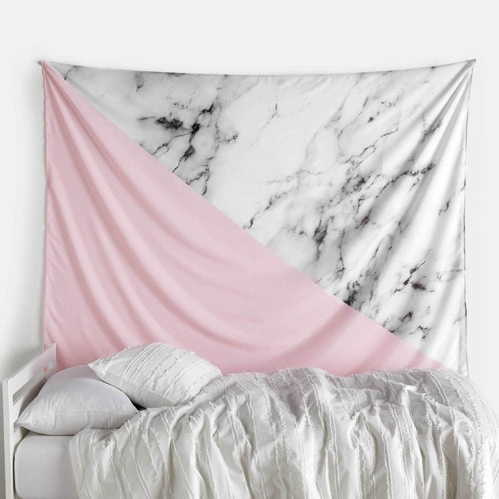 Pink marble tapestry from Dormify