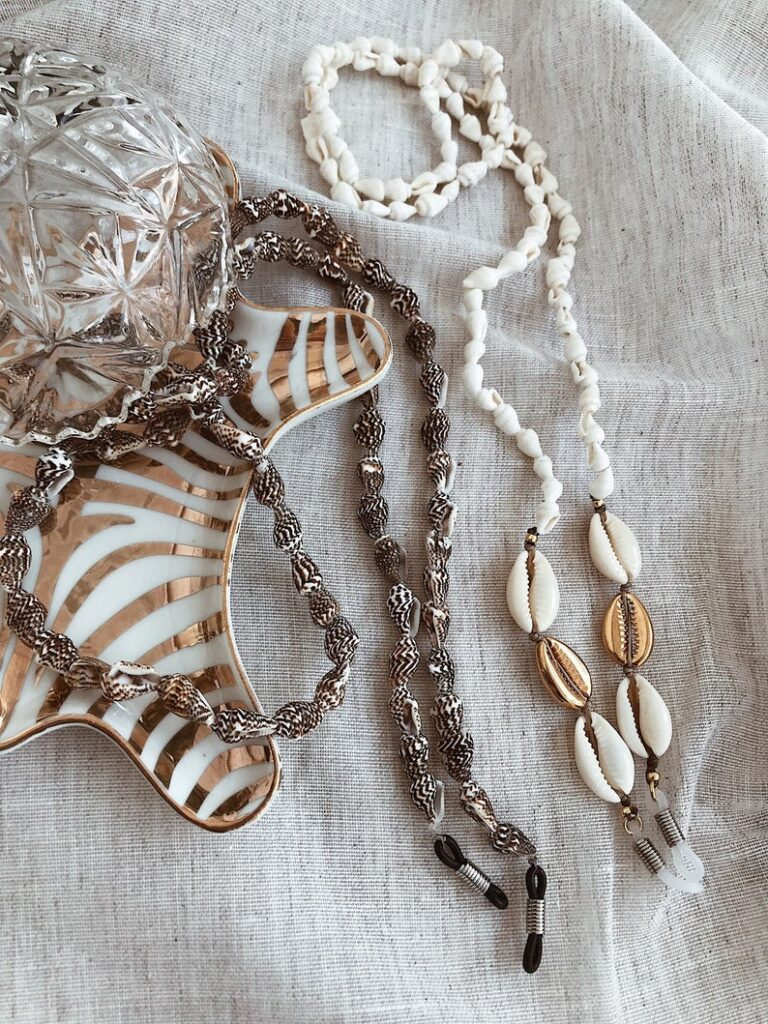 Shell chains from Etsy