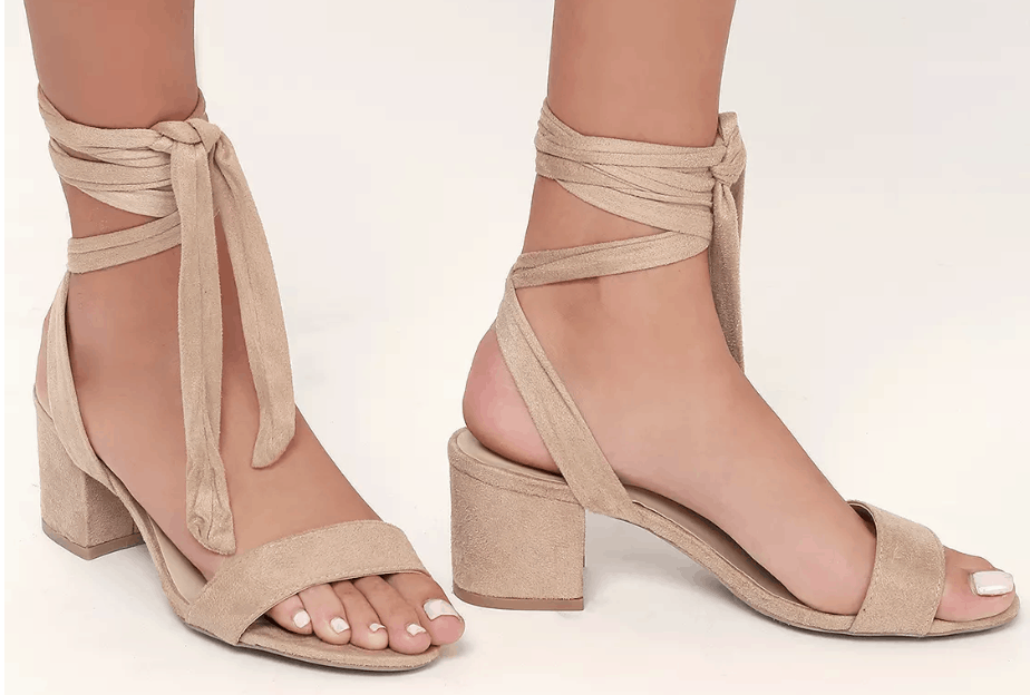 Summer heels - comfortable shoes for summer from Lulu's