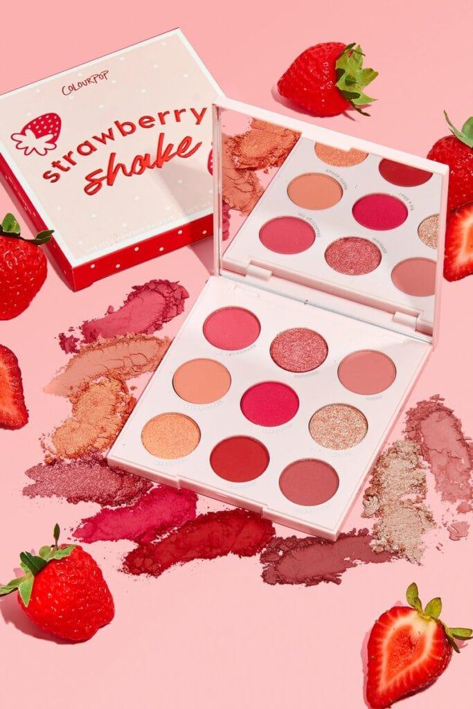 Colourpop strawberry shake palette