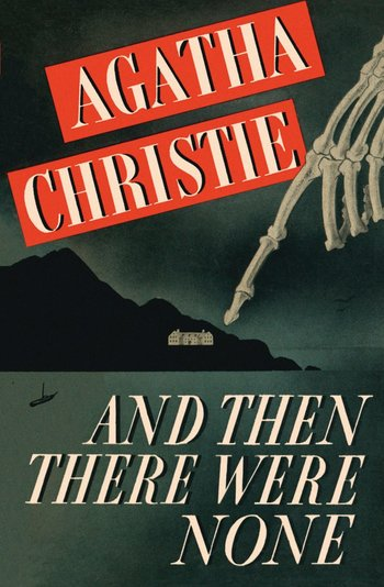 Agatha Christie And Then There Were None book cover - mystery books