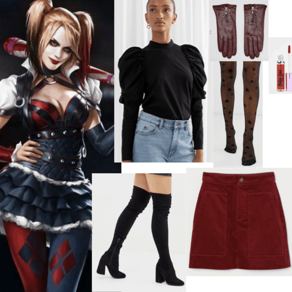 A Guide To Harley Quinn S Outfits Style Evolution College Fashion
