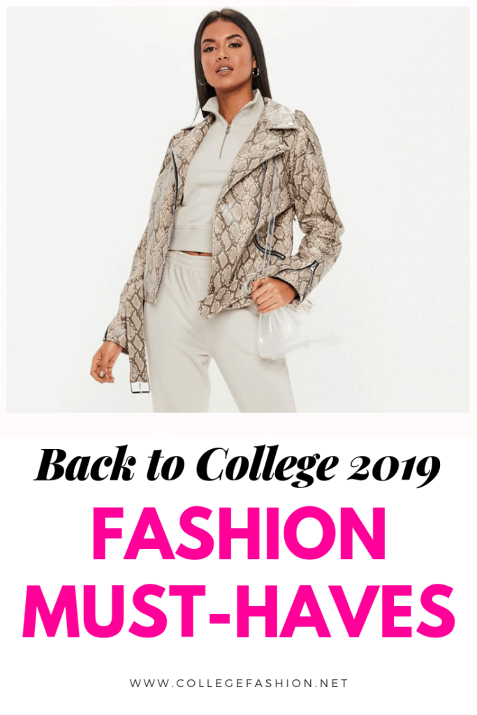 Back to college 2019 fashion must haves with Missguided