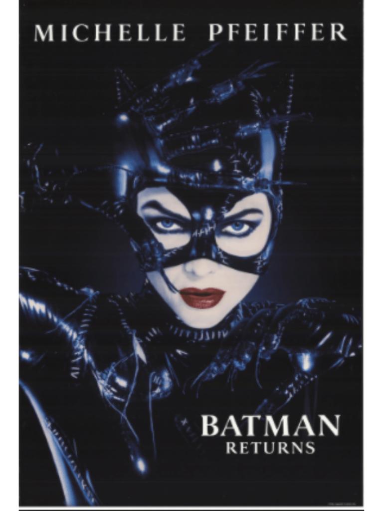 Michelle Pfieffer as Catwoman in Batman Returns