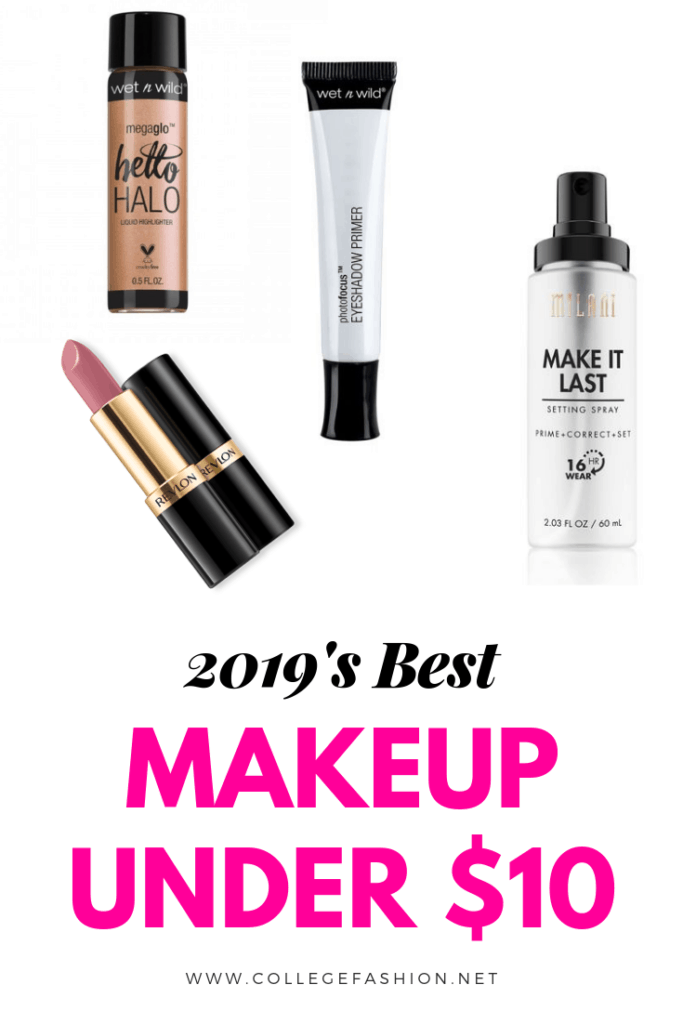 Makeup under 10: The best cheap makeup products of 2019