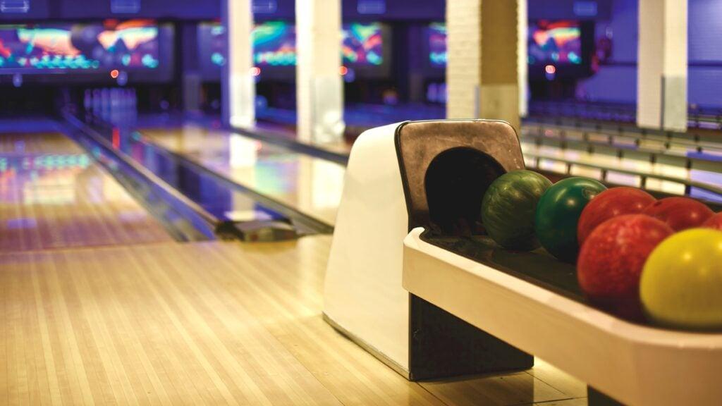 Bowling balls.