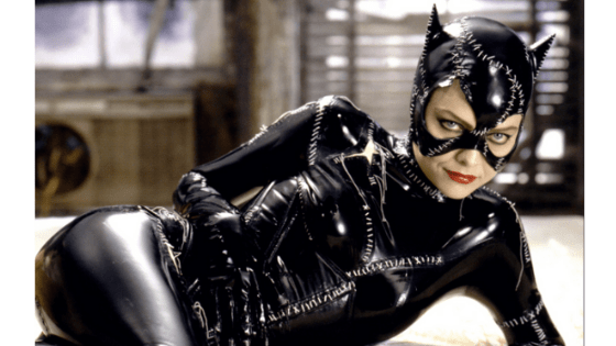 Catwoman style - shot of Michelle Pfeiffer as Catwoman