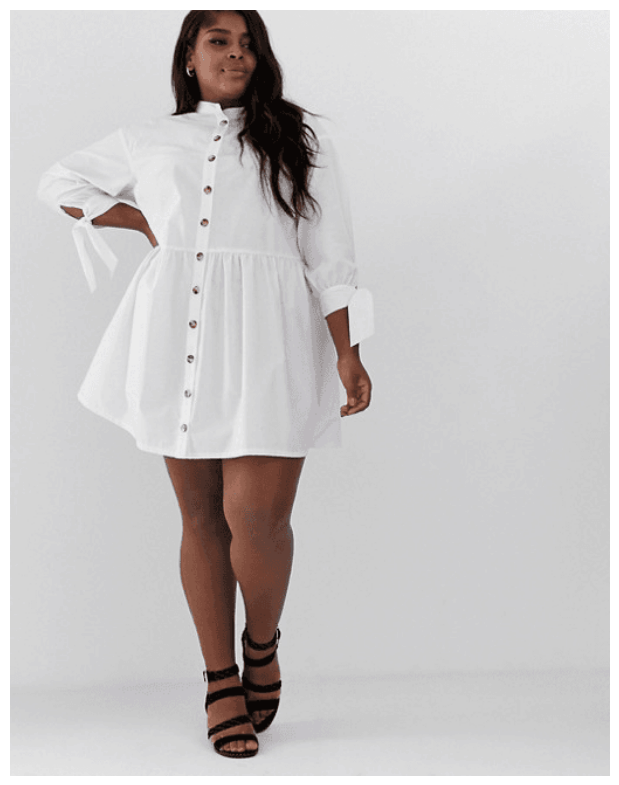 10 White Dresses to Wear Now & in Fall (Straight & Plus Size ...