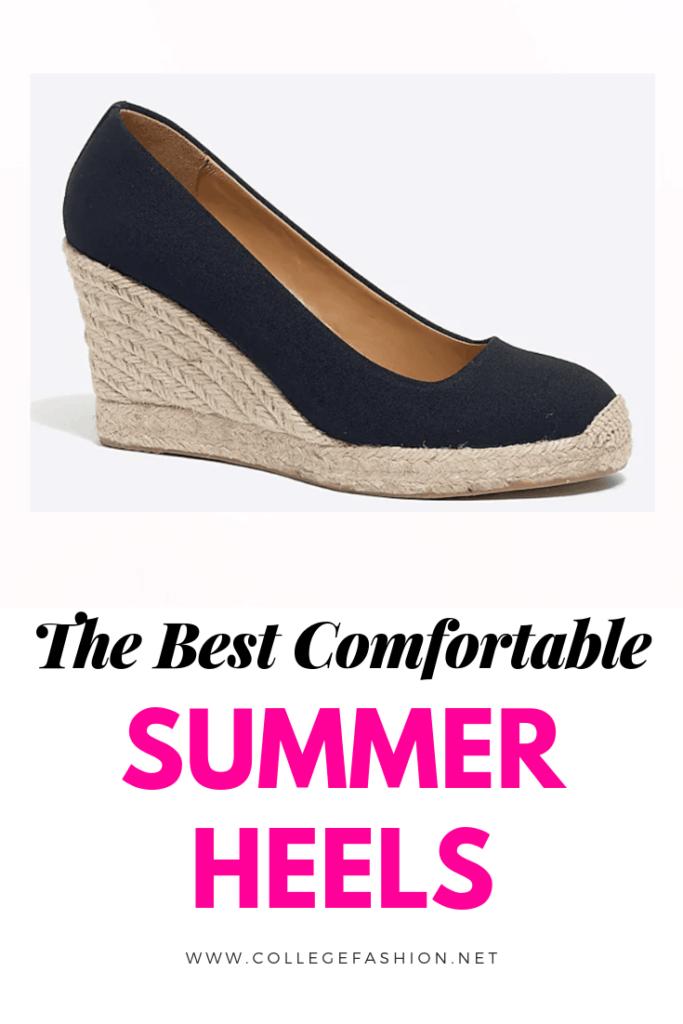 The top 5 most comfortable summer heels 2019