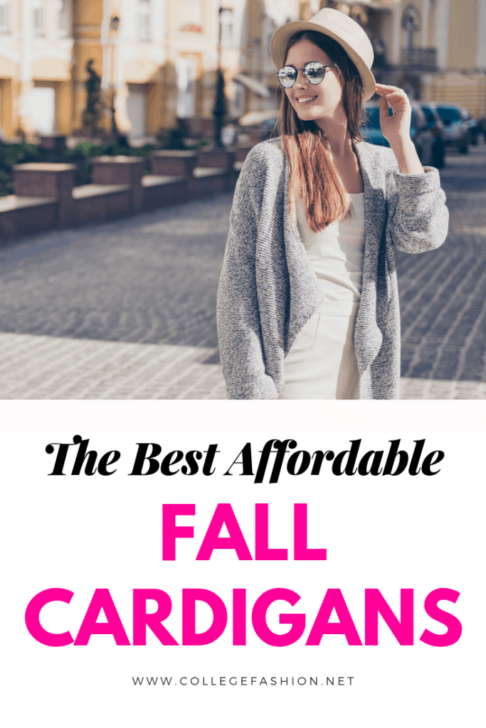The best affordable fall cardigans - cute cardigans for fall
