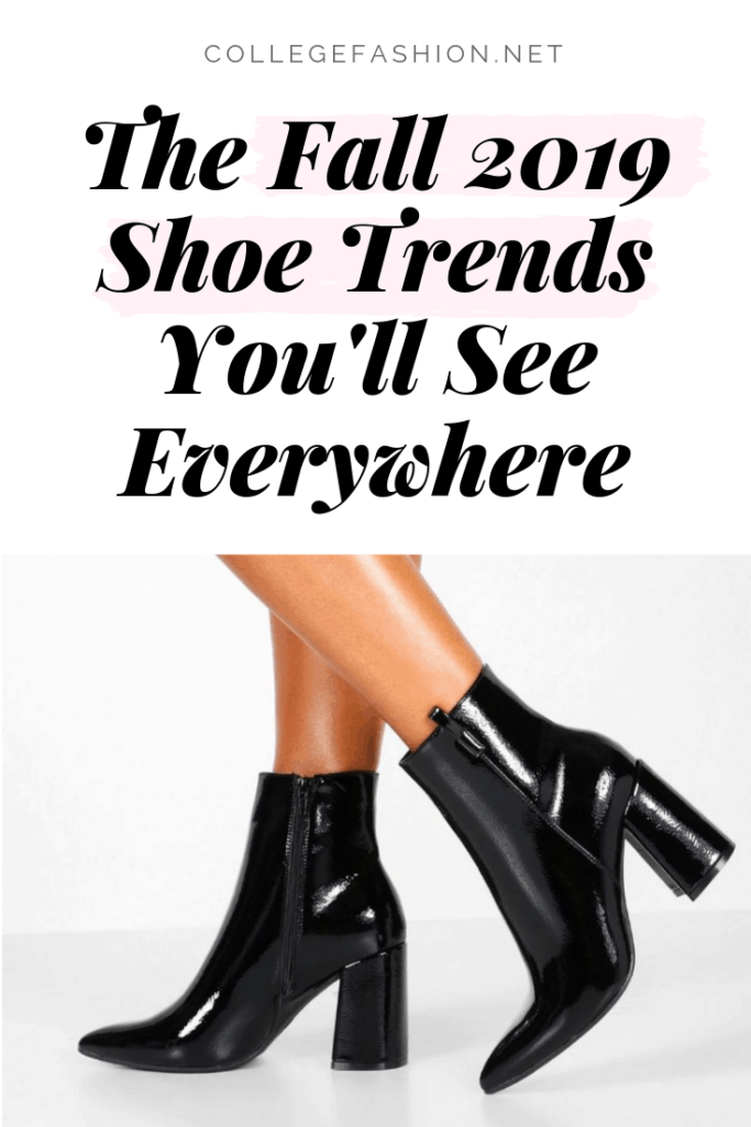Fall shoe trends for 2019 - the hottest shoes and fall boot trends you'll see everywhere
