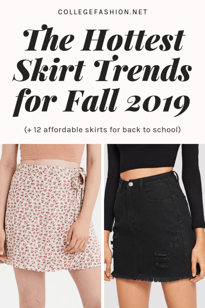 The hottest fall skirts for 2019 and affordable skirts for back to school