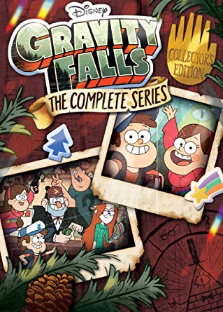 Gravity Falls poster - best mystery TV series