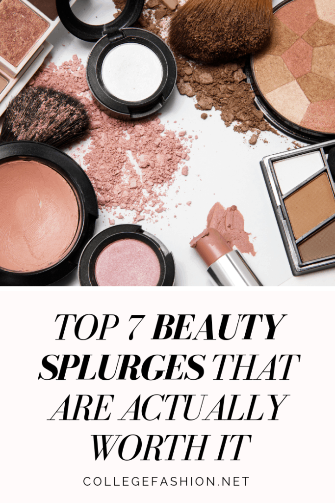 High end makeup that's actually worth the splurge