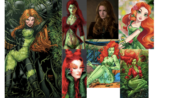 Poison Ivy style over time