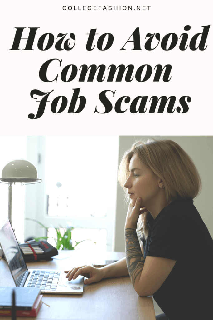 How to avoid common job scams