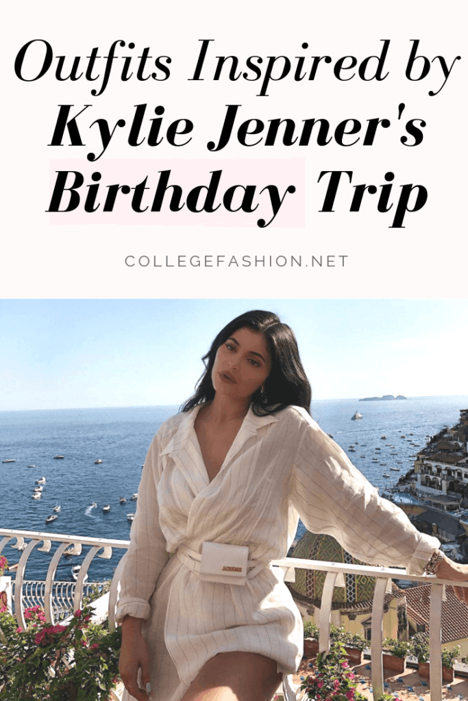 Outfits inspired by Kylie Jenner's birthday trip to Italy - get the look for less