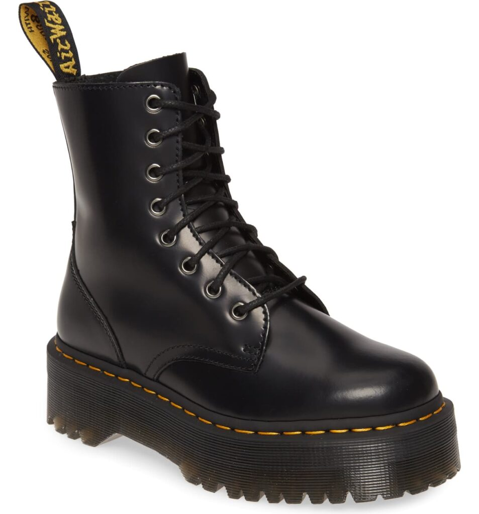 Jadon platform Doc Martens with lug sole from Nordstrom
