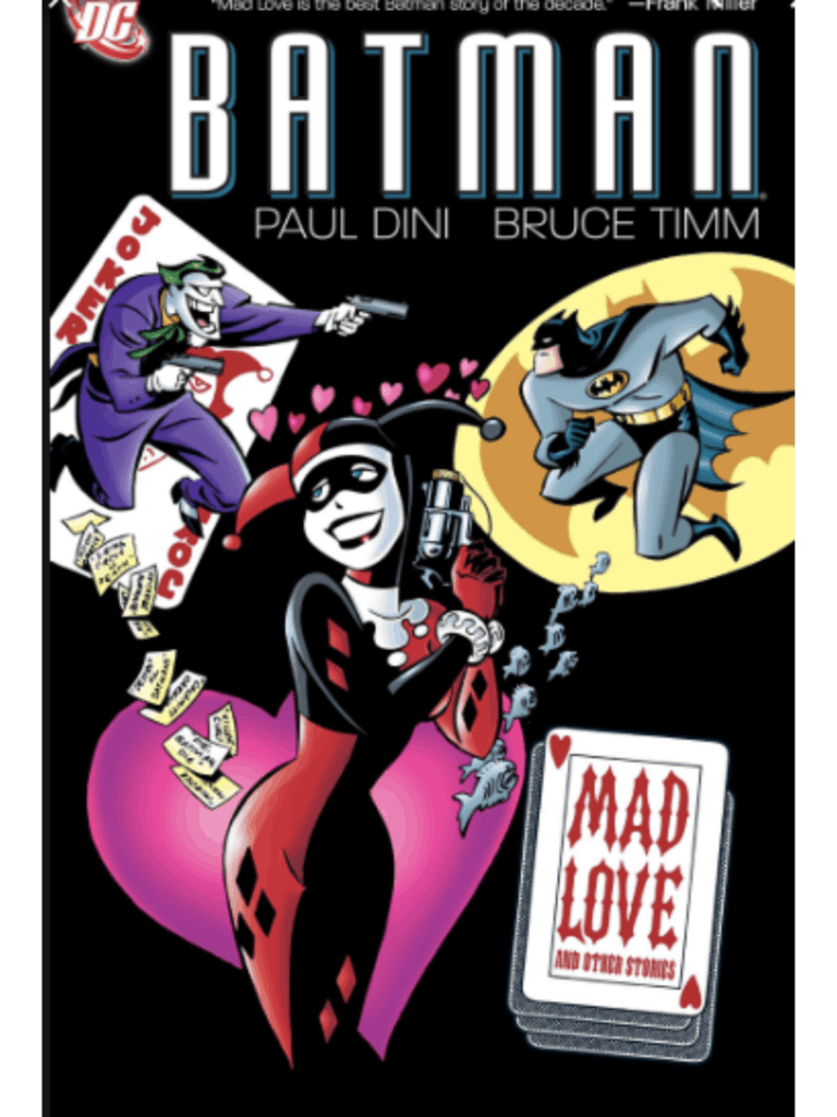 Harley Quinn style in Batman the Animated series