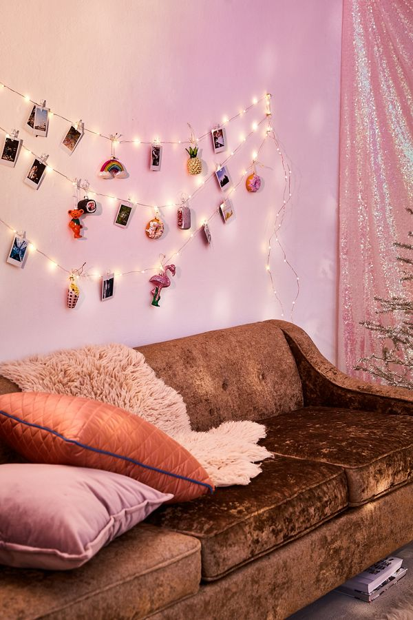 Photo clip string lights from Urban Outfitters