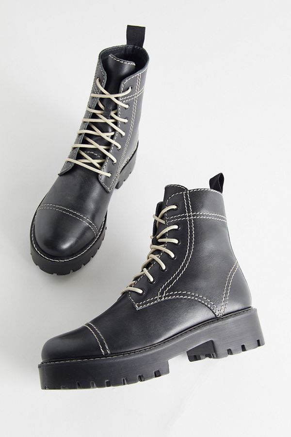 Fall shoe trends - Combat boots, lace up boots from Urban Outfitters
