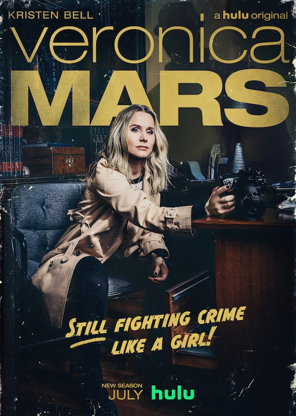 Veronica Mars poster - best TV series of the mystery genre