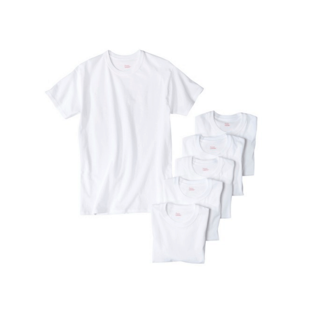 Theme party clothes - Group of white tee shirts.
