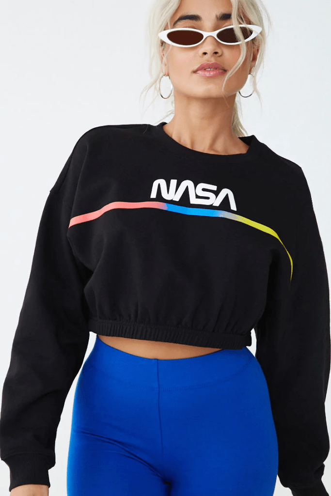 NASA graphic sweatshirt