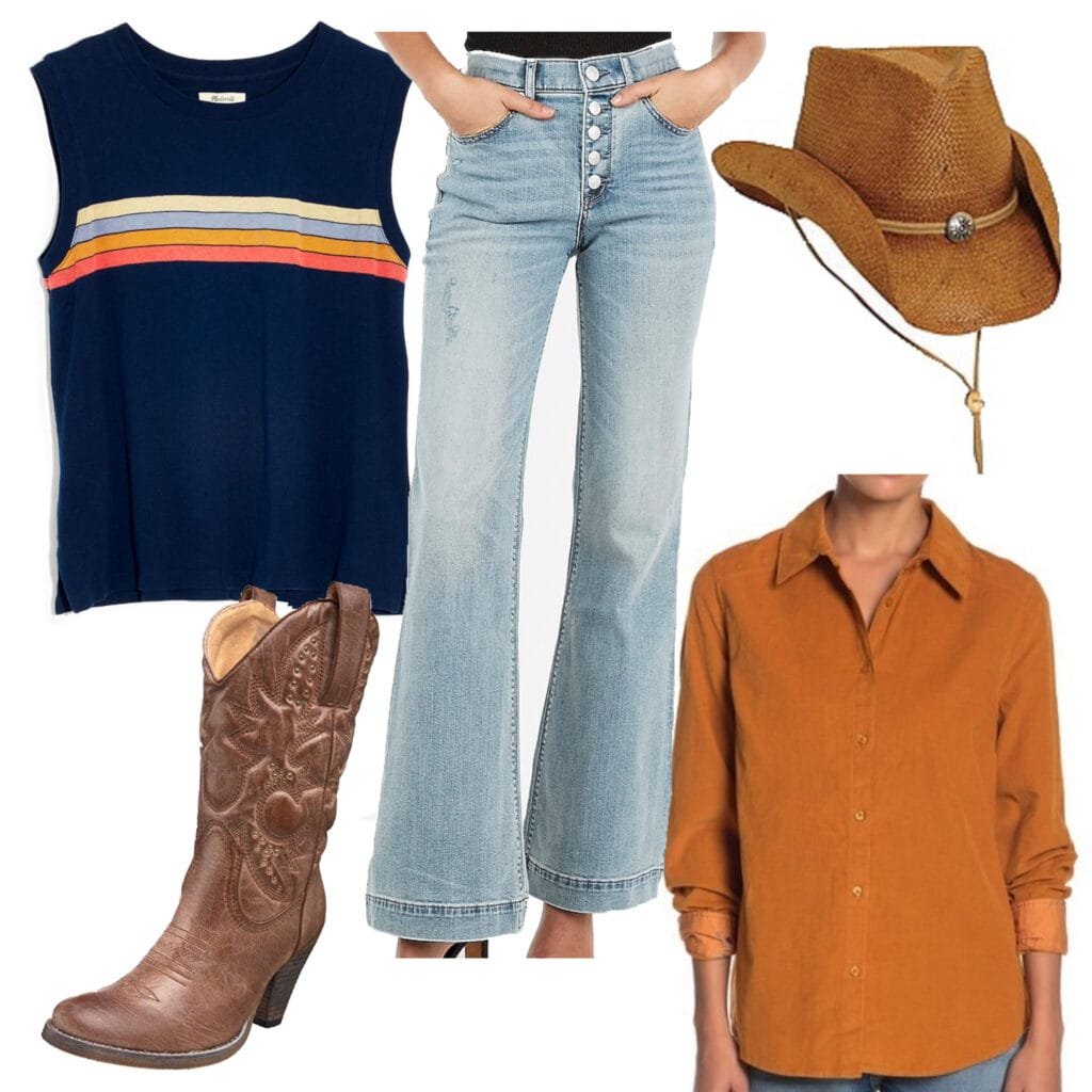 Fall concert outfit ideas - Outfit Set for a Country Concert