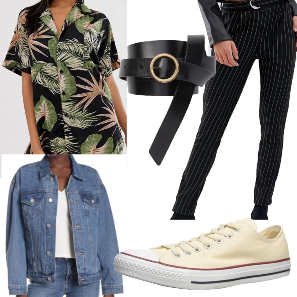 Outfit Set for an Indie Concert