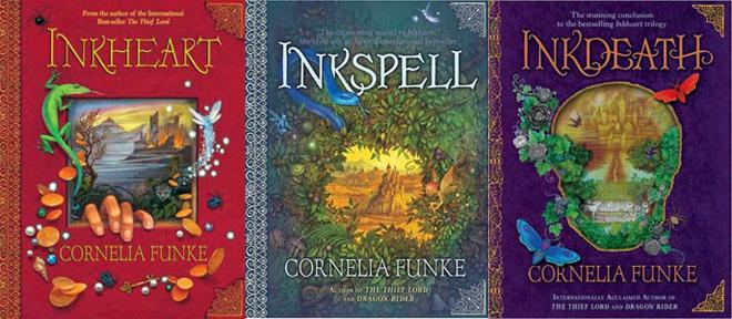 Best fantasy books: Inkworld Trilogy by Cornelia Funke