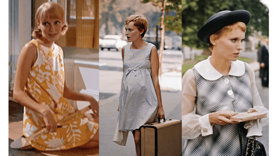 Fashion in Rosemary's Baby: Babydoll dresses