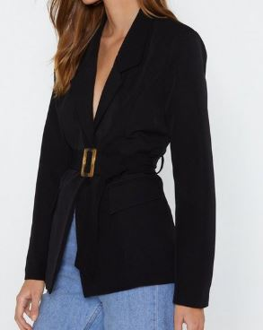 belted blazer - fall trends for 2019