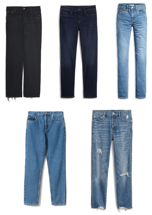 Five Updated Basics You Need in Your Closet ASAP: Straight-Leg Jeans
