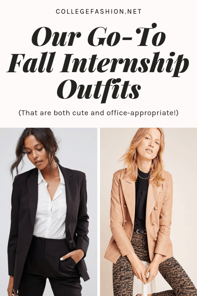 Our favorite fall internship outfits for every office