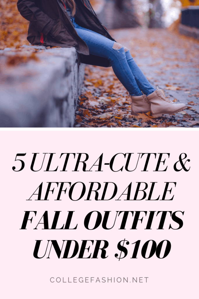 Fall outfits under 0 - 5 cute and affordable budget friendly fall looks
