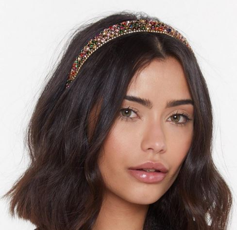Embellished jewel headband