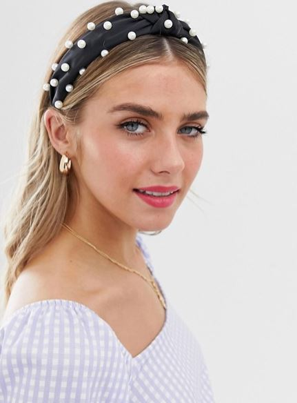 ASOS embellished headband inspired by Lu from Elite