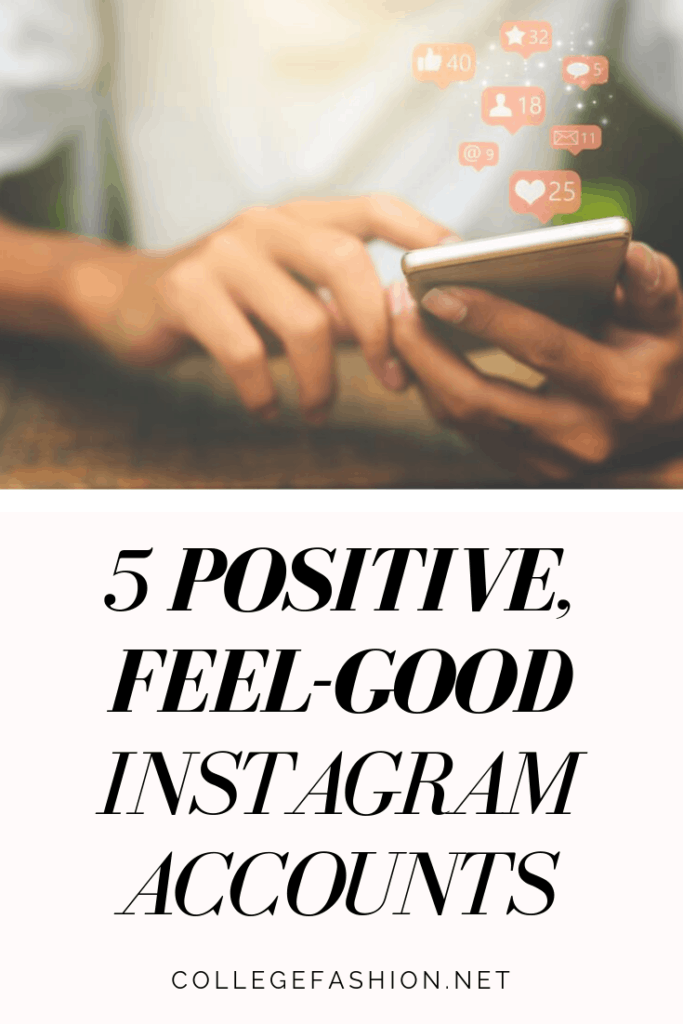 Our favorite positive Instagram accounts to follow for feel good quotes and inspiration