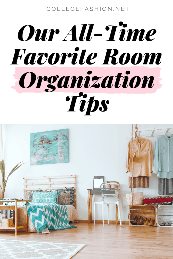 Best room organization tips for students and young women