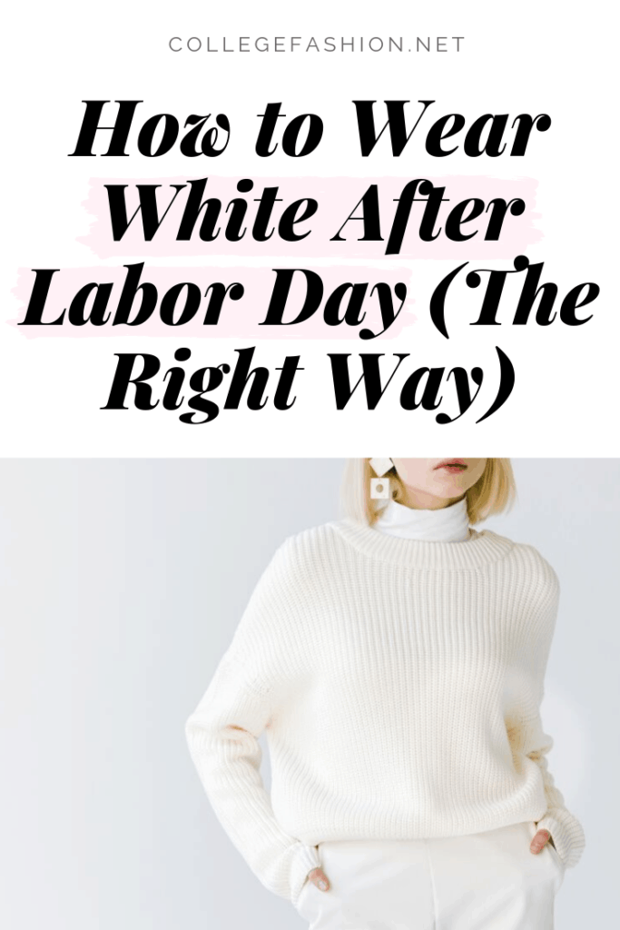 White after labor day - how to wear winter white and white pants after Labor Day