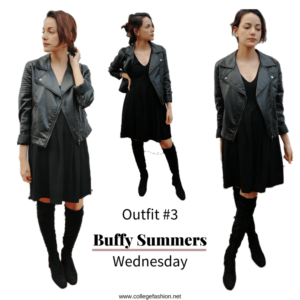I dressed like Halloween Characters for a week Buffy Summers