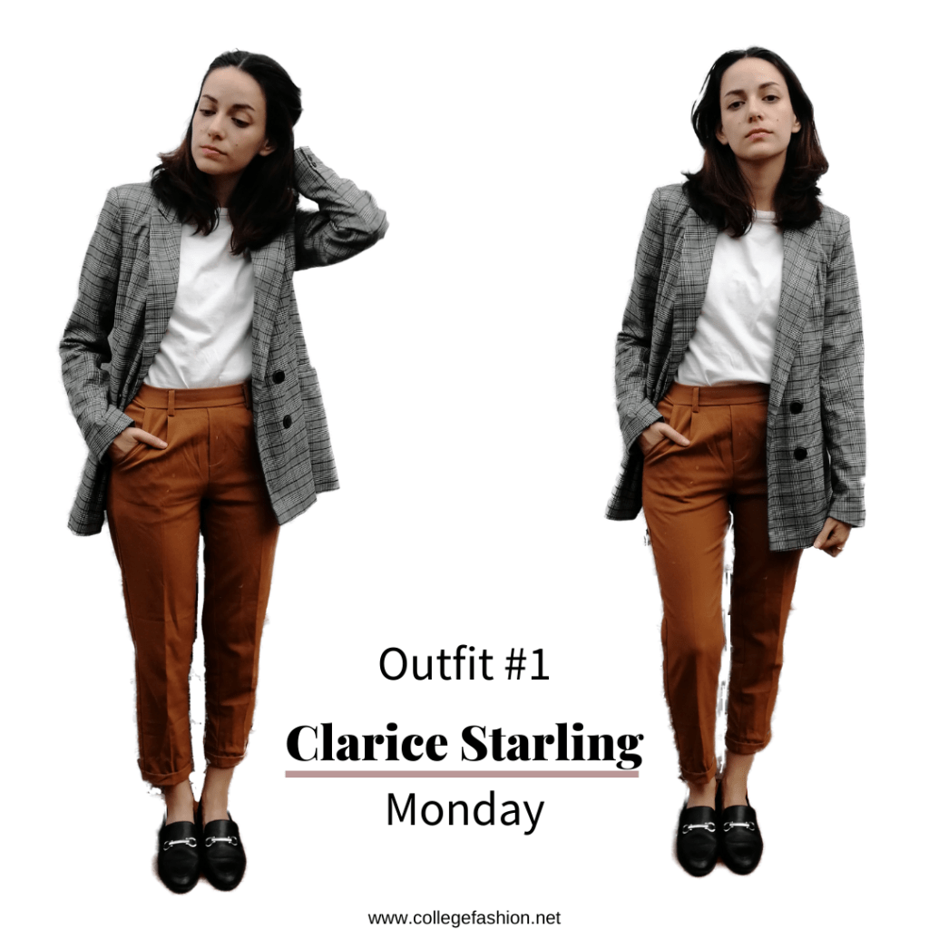 I dressed like Halloween Characters for a week Clarice Starling