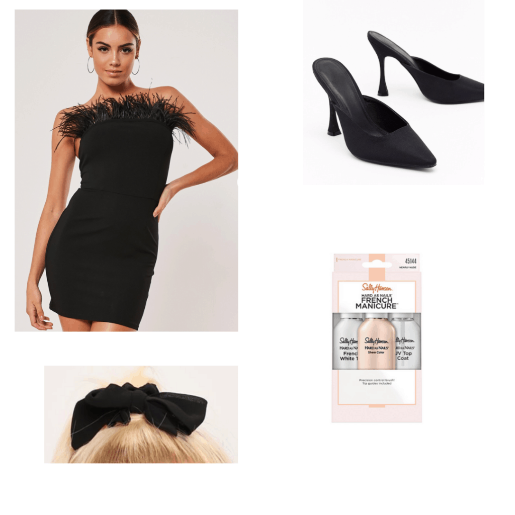 on becoming a god in Central Florida fashion - outfit inspired by Krystal's black dress