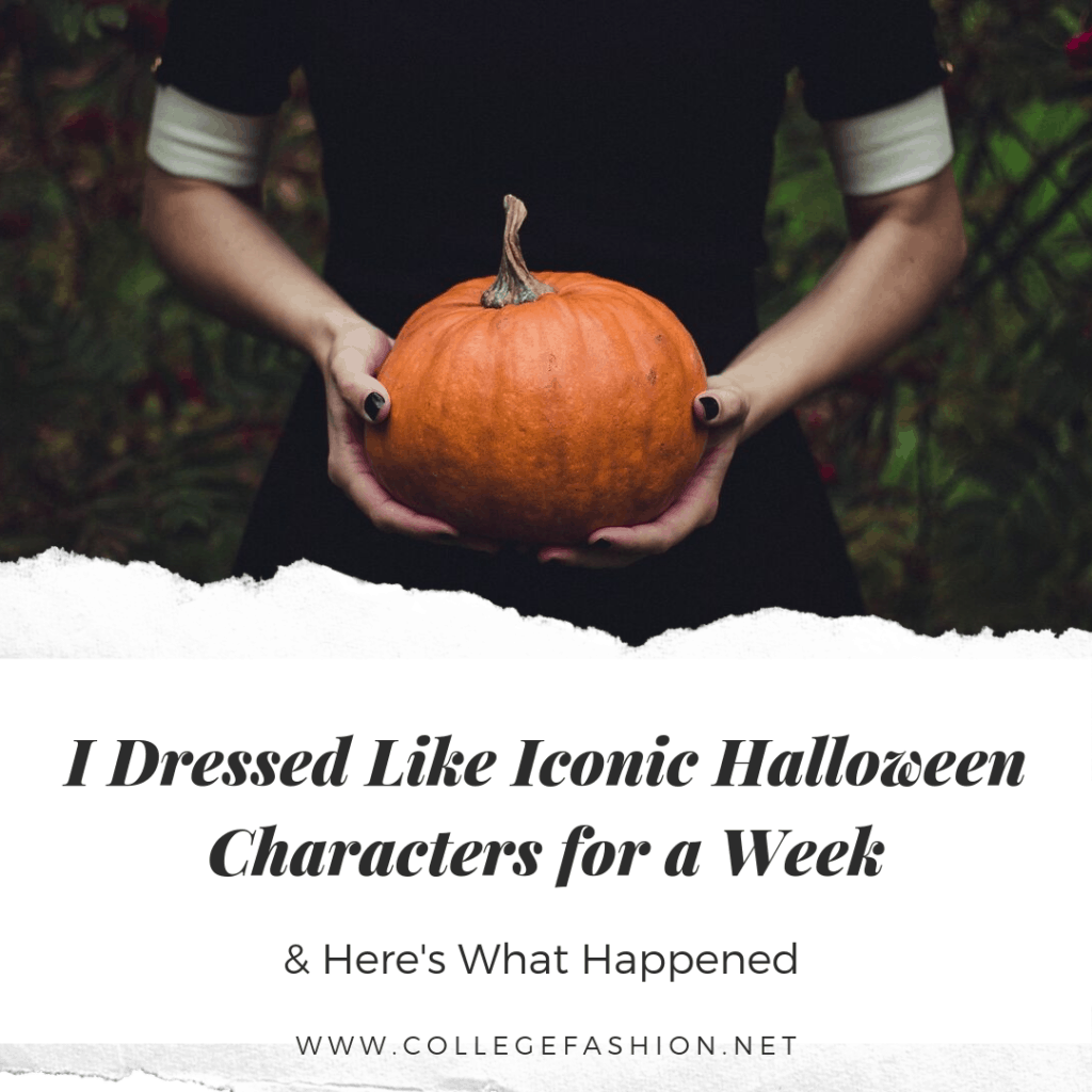 I dressed like Iconic Halloween Characters for a week Main Image