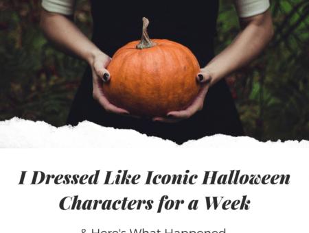 I dressed like iconic Halloween characters Main Image