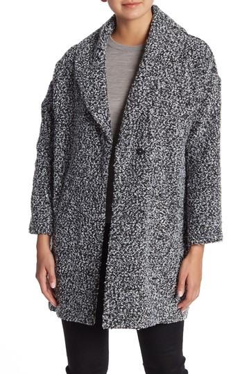 Affordable winter coats: Nordstrom Rack SUSINA Brushed Tweed Coat